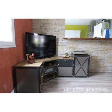 meuble cuisine acier supérieur meuble haut d angle cuisine 6 meuble tv