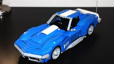lego   corvette replica  lego ideas gm authority