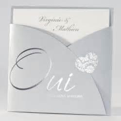 faire part mariage oui faire part mariage avec pochette grise 39 oui nous nous marions 39 112 013 buromac