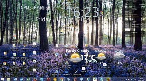 gadgets de bureau windows 7 gratuit rainemeter ajouter de nouveaux gadgets à votre bureau