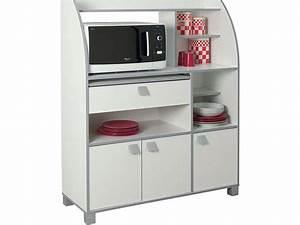 Meuble Cuisine Micro Onde : meuble micro ondes conforama table de lit ~ Teatrodelosmanantiales.com Idées de Décoration