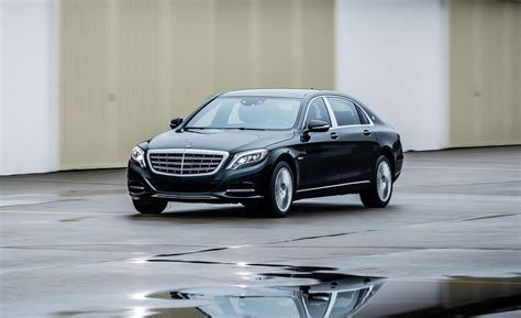 2017 Mercedes-maybach S550 4matic Test
