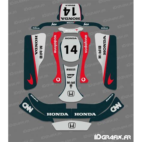 kit deco f1 series mac laren for karting crg rotax 125 idgrafix