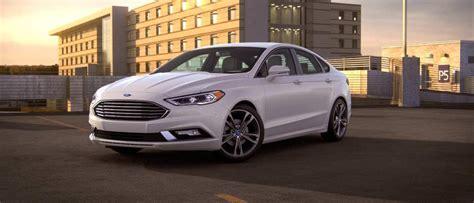 ford fusion sedan stylish midsize sedans hybrids