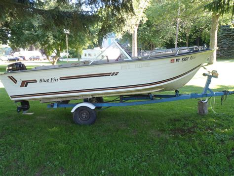 Bluefin Boats by Blue Fin Sportsman 1984 For Sale For 4 000 Boats From