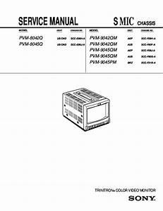Pdf  Service Manual Chassis Trinitron U00ae Color Video
