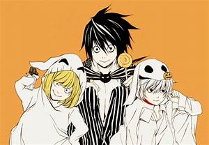 Death Note images L, Mello, and Near wallpaper and ...