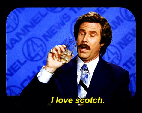 ron burgundy gets his own scotch finally 183 the daily edge