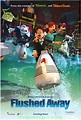 FLUSHED AWAY MOVIE POSTER ORIGINAL DS 27x40 ANIMATION 2006 ...