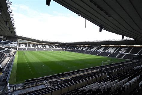 First UK heated concourse at Derby County