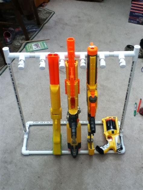 nerf gun rack 32 best nerf guns images on gun steunk