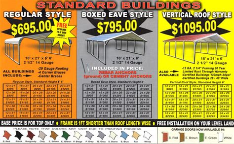 Metall Carport Preise by Attached Wood Carport Kit Prices Interior Decorating