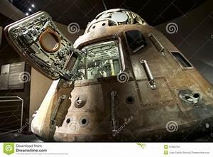 Apollo 13 Capsule Displayed At NASA Editorial Stock Photo ...