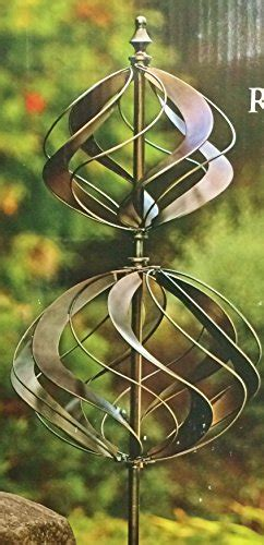 vertical double tiered wind catcher spinner tulip style