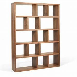 étagère Bibliothèque Bois : buffets meubles et rangements berlin biblioth que ~ Teatrodelosmanantiales.com Idées de Décoration