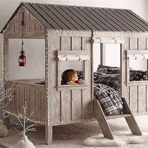 cabane de chambre des idées et des inspirations pour réaliser un lit cabane