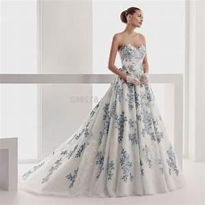 White And Blue Wedding Dresses Wwwpixsharkcom Images