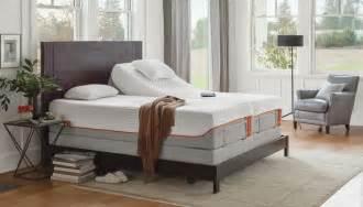 temperpedic adjustable bed tempur ergo premier adjustable base mattress house