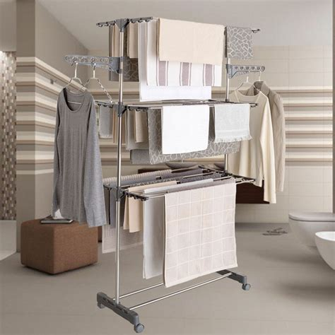 s 233 choir 224 linge inox maxima gris 233 tendoir pliable linge et