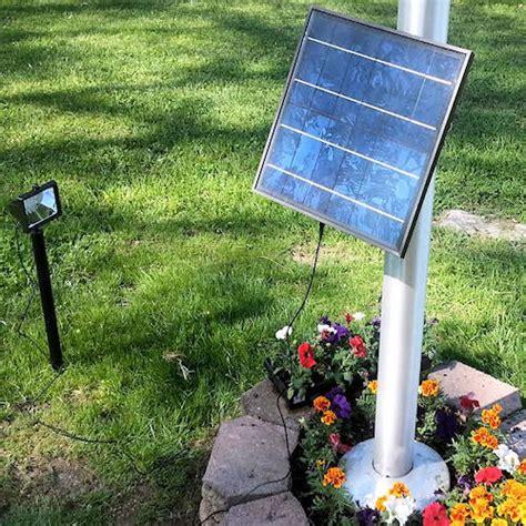 commercial solar outdoor lighting 12 led commercial solar flood light flag light greenlytes