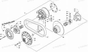 Arctic Cat Side By Side 2018 Oem Parts Diagram For Clutch