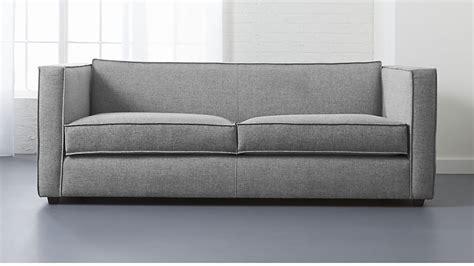 sectional sofa reviews light grey sofa cb2
