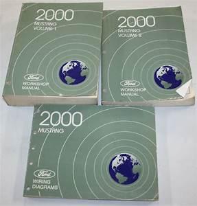 2000 Ford Mustang Service Manual  U0026 Wiring Diagram