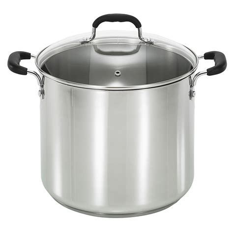 fal   quart stainless steel stock pot home kitchen cookware stockpots steamers