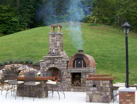 images  outdoor fireplace pictures  pinterest