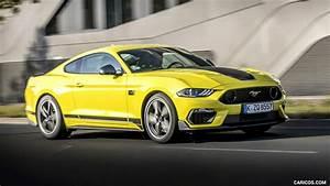 2021 Ford Mustang Mach 1 (EU-Spec) (Color: Grabber Yellow) - Front Three-Quarter   HD Wallpaper ...