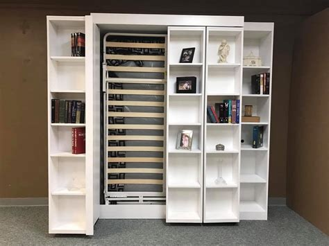 Murphy Bookcase by Bookcase Murphy Bed