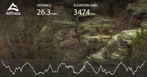 shawnee national forest trail illinois alltrailscom