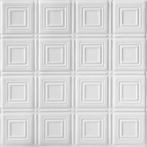shop armstrong metallaire white patterned 15 16 in drop