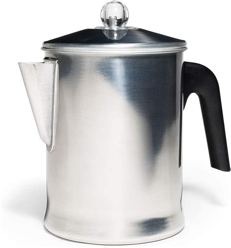 For more information on coffee and all things. 9 Cup Coffee Percolator Camping Stove Top Pot Aluminium Warmer Universal Home | eBay
