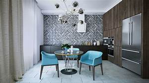 beautifully modern youthful home for a small family With kitchen cabinet trends 2018 combined with solar system wall art