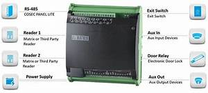 Wiring Diagram Access Control Panel