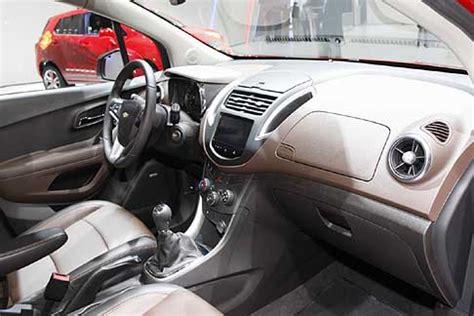 interni chevrolet trax motorshow chevrolet chevrolet trax interni vettura
