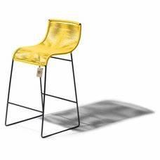 Tabouret De Bar Jaune : tabouret de bar lilix jaune le fauteuil acapulco authentique ~ Teatrodelosmanantiales.com Idées de Décoration