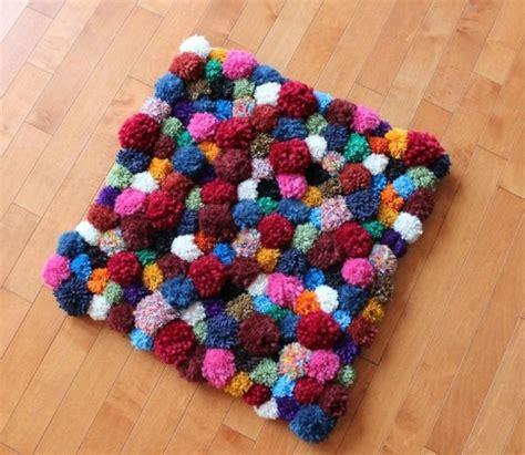 teppich selbst gestalten diy wohnideen teppich oder fu 223 matte selbst basteln diy