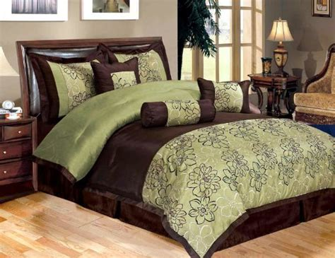 green and brown comforter and bedding sets - Green And Brown Comforter Sets