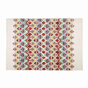 Maison Du Monde Tapis Rond : tapis tapis de salon en coton tress ou en lin ~ Zukunftsfamilie.com Idées de Décoration