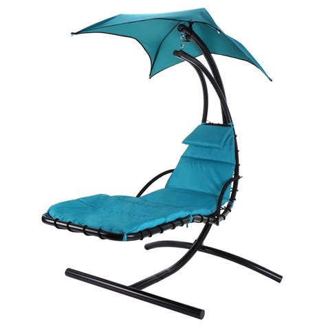 outdoor hanging chairs palm springs outdoor hanging chair recliner swing air chaise longue ebay