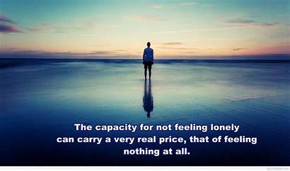 Alone Feeling Boy Wallpapers Quotes Quote Lonely