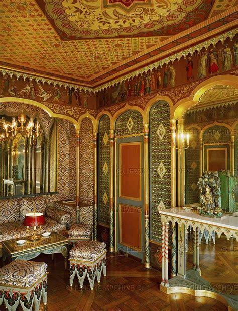 boudoir  ottoman style decorated   return