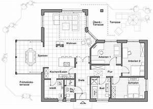 Pläne Für Häuser : bungalow mit loftcharakter von viebrockhaus haus bau ~ Lizthompson.info Haus und Dekorationen