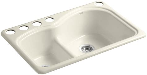 Kohler Sink Rack Almond by Faucet K 5839 5u 47 In Almond By Kohler