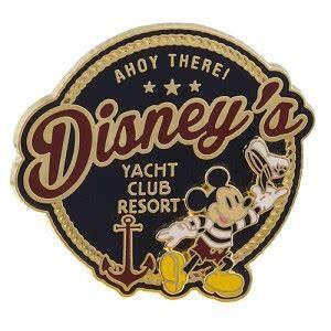 Your WDW Store Disney Yacht Club Resort Pin Mickey