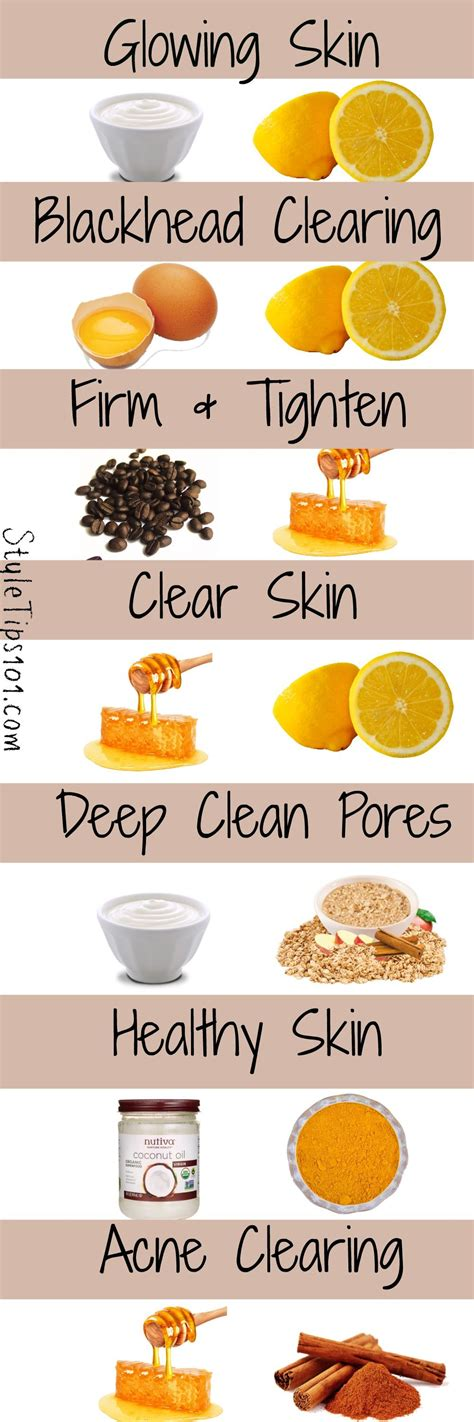 diy face masks  glowing skin skincare makeup tips