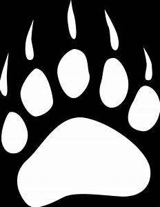 Bear Paw Print Drawing | www.imgkid.com - The Image Kid ...