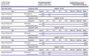 Monthly Project Progress Report Template 7 Payroll Summary Report Template Simple Salary Slip